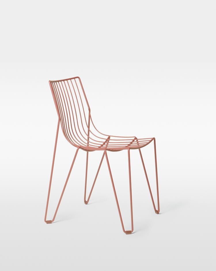 Tio Chair Beige Red by Massproductions   Spec Sheet PDF