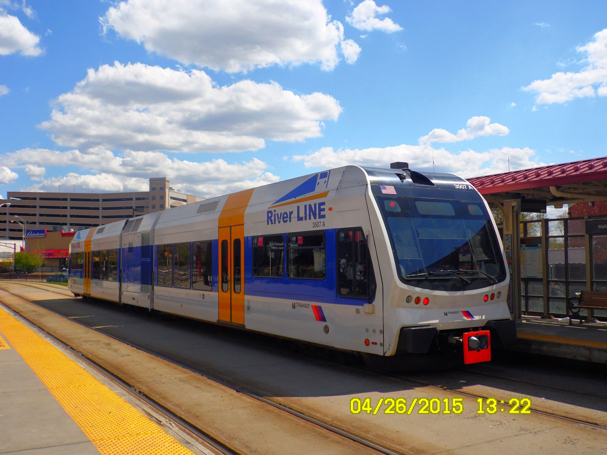 New Jersey Transit River LINE Light Rail