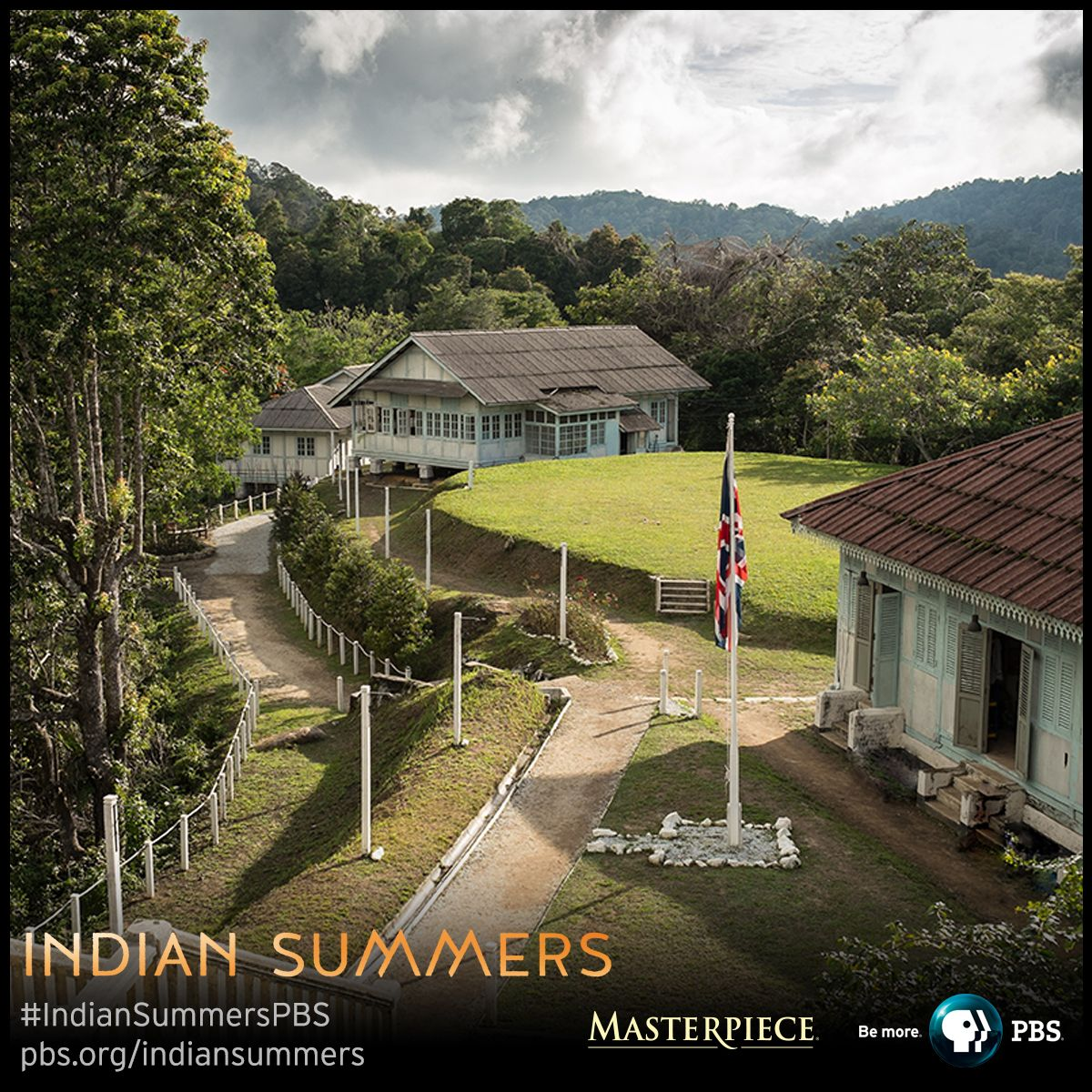 """View from """"The Royal Simla Club"""" 