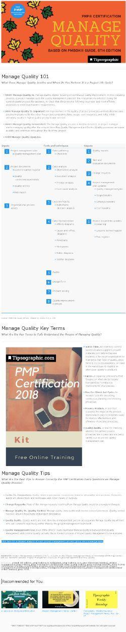 Pmp Certification 2018 Free Online Training Pmbok 6 Pmbok Sixth