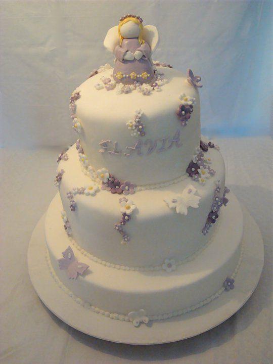 Torta prima comunione le torte di isabel pinterest cake for Decorazione torte prima comunione