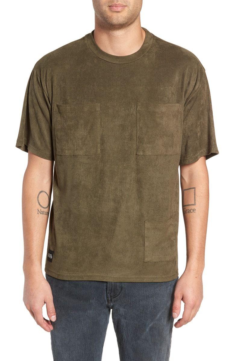 20e1f3842e2 NATIVE YOUTH CORDUROY POCKET T-SHIRT.  nativeyouth  cloth