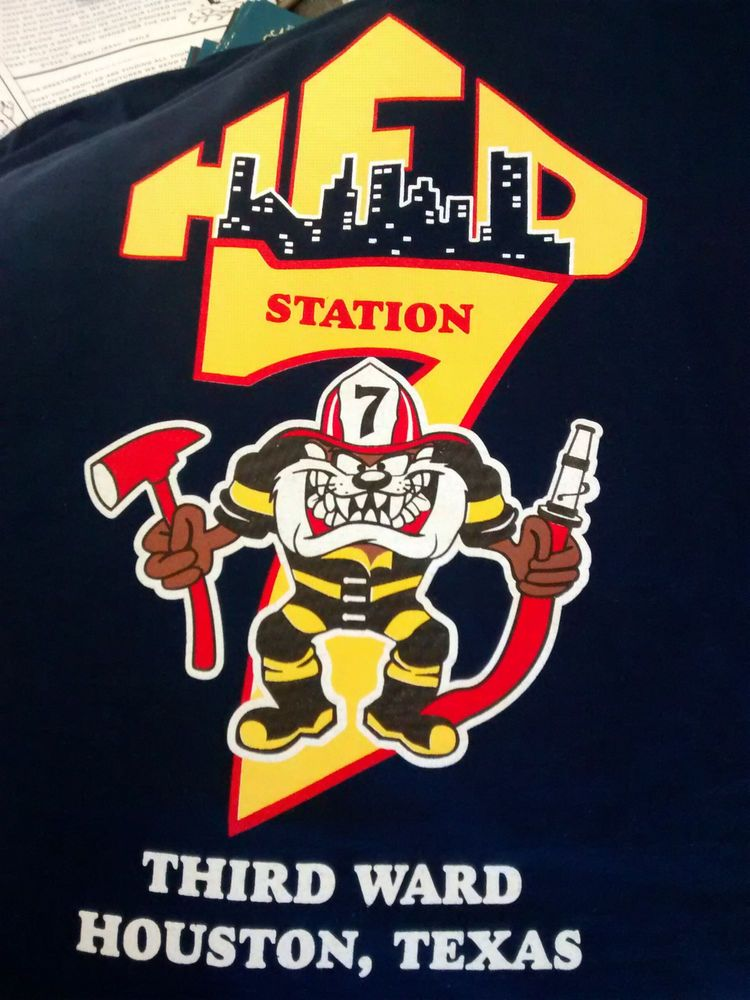 Details About Houston Fire Department Hfd Station 7 Third