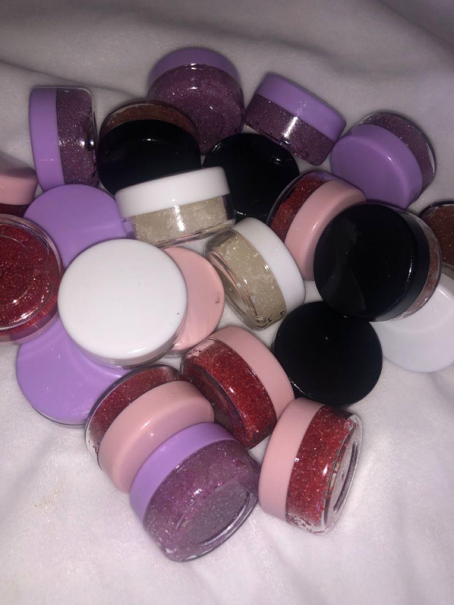 Lip scrubs of the MIXED PERSONALITY COLLECTION BUY 2 GET 1 FREE  * * * * * * * * * *  #lipglossline #lipglossobsession #lipcream #lipglossplug #organic #skincareroutine #blackownedbusiness #liptint #lipglosses #lipoil #vegan #viral #liptreatment #lipscrubs #pelembabbibir #lipglossboss #lipbalms #lipmatte #faraalipbuttersquad #lipbalmmalaysia #handmade #lipbutter #homemade #softlips #bibirhitam #scrubbibir #lipcaretips #shop #lipglossaddiction #beautytips
