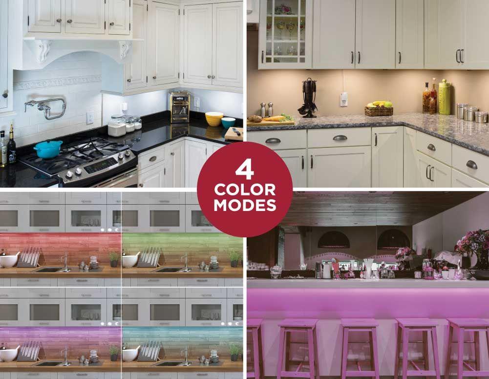 3 Bar Color Changing Led Lighting Kit 6 Color Changing Led