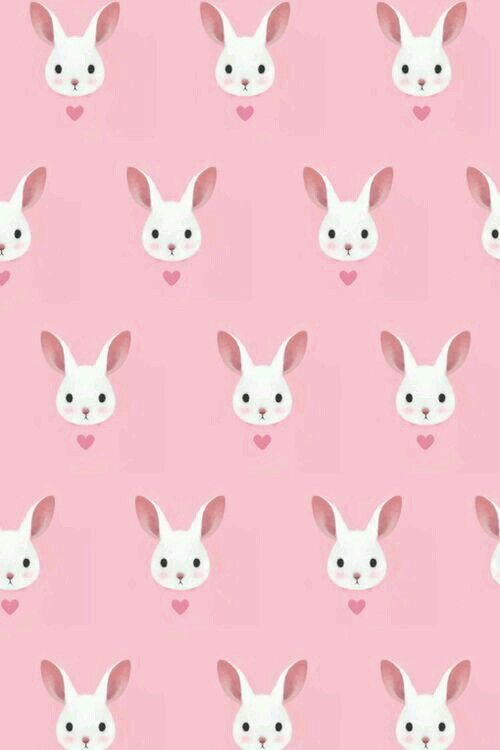 Wallpaper Easter Bunny Cute Wallpapers Pattern Wallpaper Pattern
