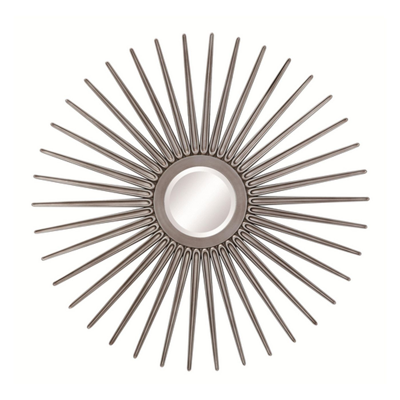 This decorative sun shaped mirror is the perfect mix of ...
