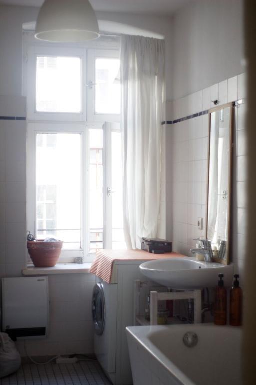 Schönes Bad In Hellem 2 Raum Apartment #Wohnung In Berlin