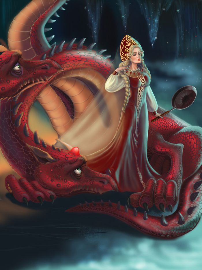 Картинка царевна змея