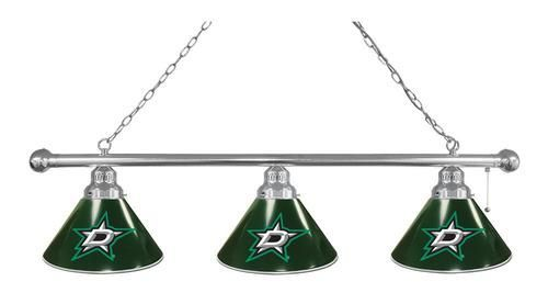 Dallas Stars Pool Table Light Chrome Billiard Light