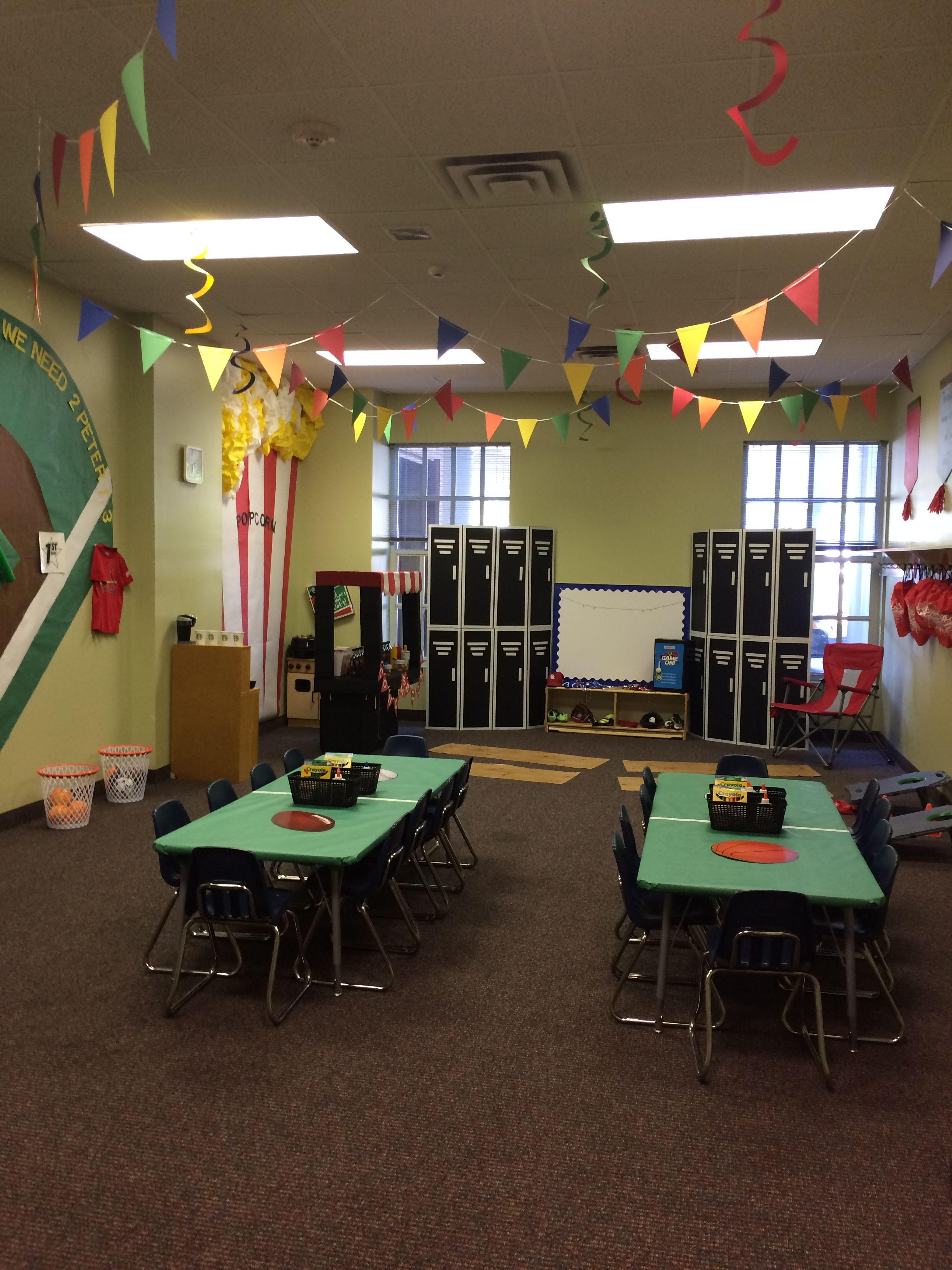 Vbs On Sport Themed Crafts Preschool Religious Education