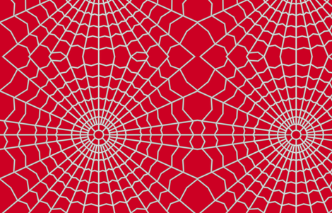 Spider Web On Deep Red Cc0022 Art On Fabric Spoonflower Halloween Wallpaper Custom Fabric Spoonflower