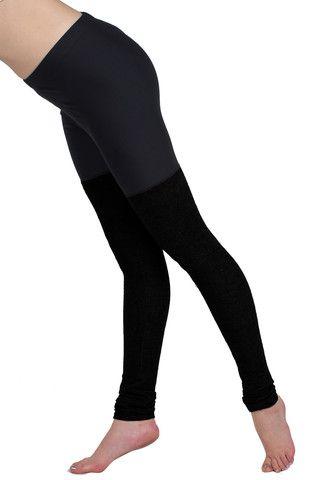 ffefa49bc5eb5 Ballerina Cashknit Legging - Black - POPRAGEOUS - 1   workout clothes