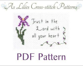 PDF Cross stitch Pattern