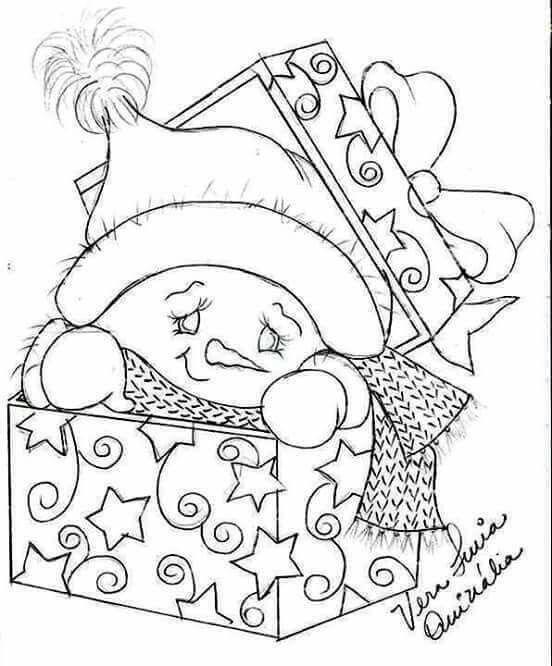 Pin de Huisz Csilla en Színező | Pinterest | Navidad, Pintura en ...