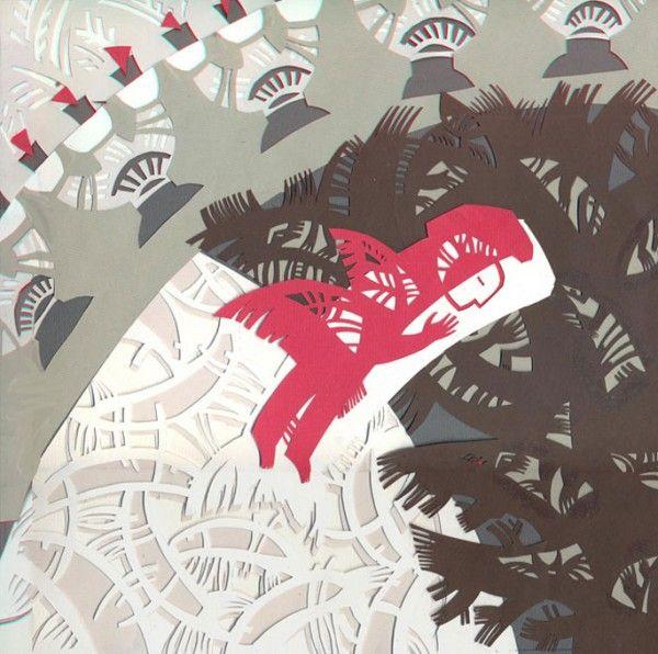 Перетин. Ілюстрація до збірки творів Богдана-Ігора Антонича Велика