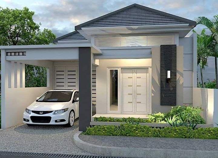 Desain Rumah Minimalis Modern 1 Lantai Home New Di 2019 House