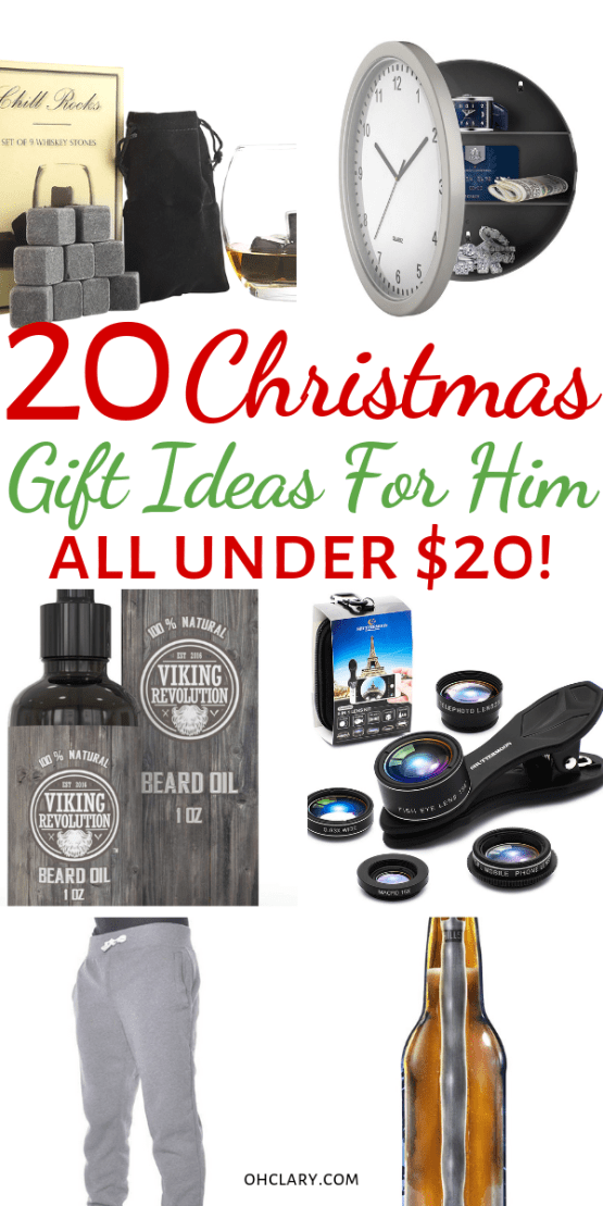 20 Gifts For Him Under 20 That Will Rock His World Funny