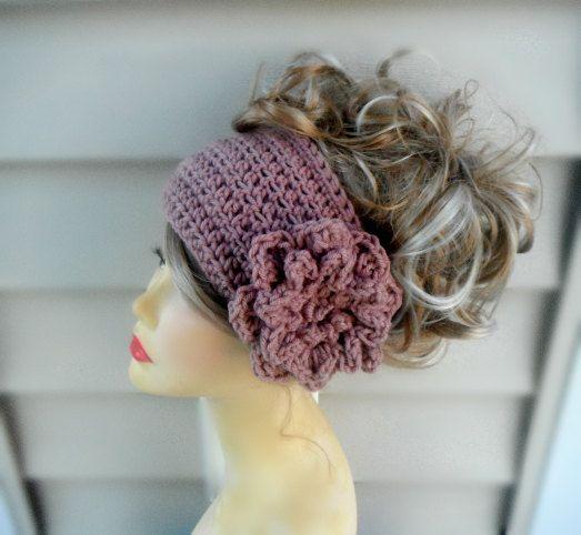 Crochet Headband Crochet EarwarmerCrochet by knottycreationsbyET ...