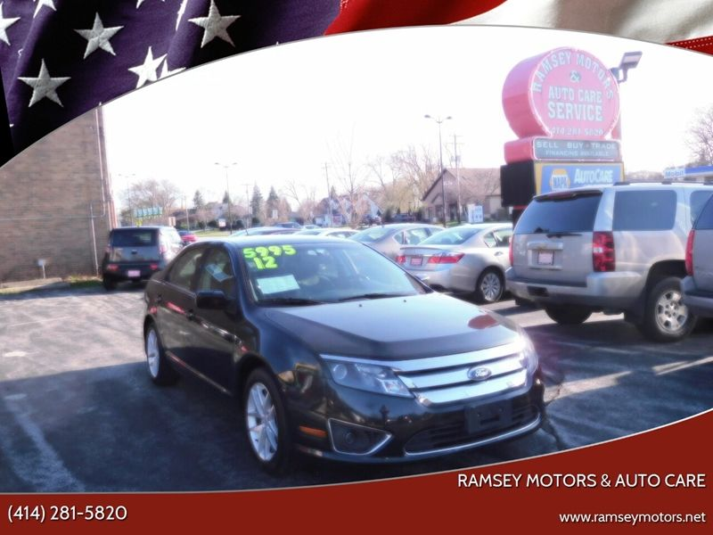 This 2012 Ford Fusion SEL is listed on