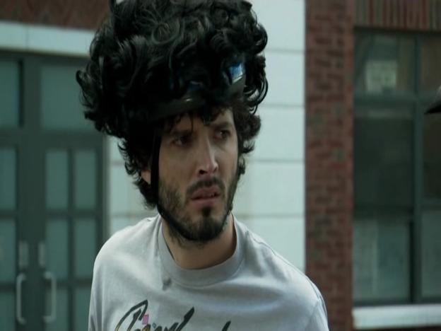 Bret Your Helmet That Looks Like Hair Jermaine Yes