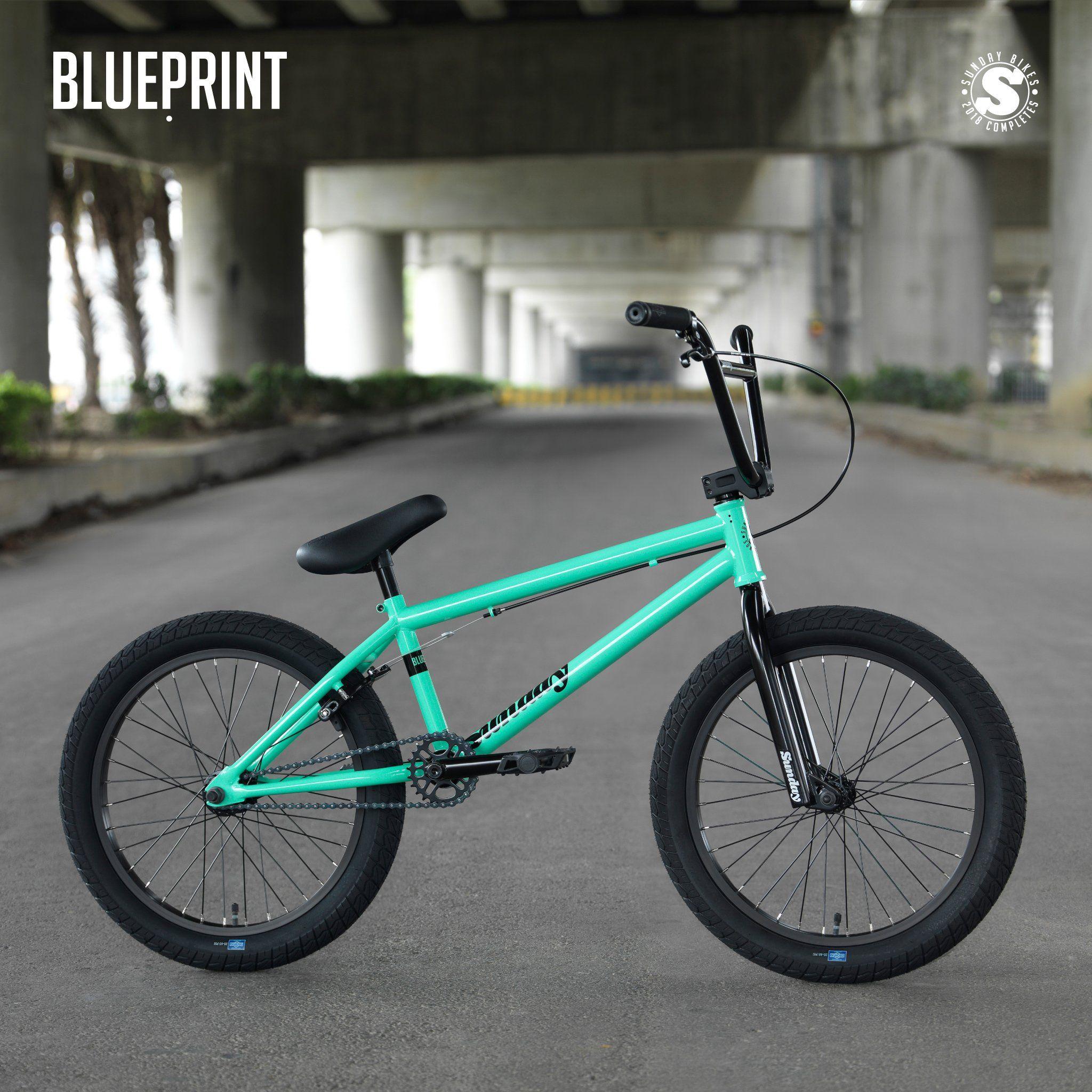 Sunday 2018 Blueprint 20 Complete Bmx Bike Bmx Bikes Sunday Bmx Bmx