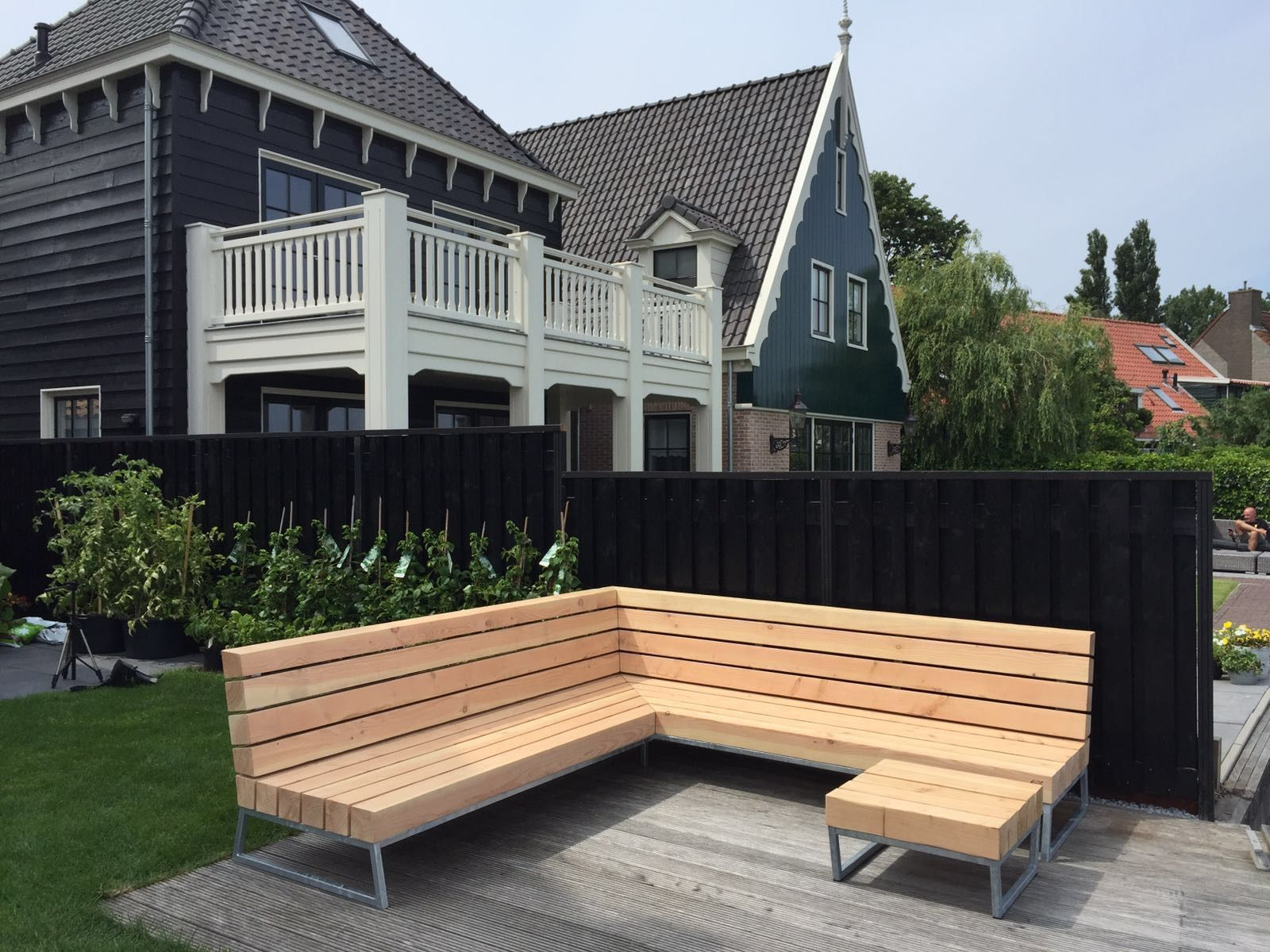 Tuin Loungebank Outlet.Robuuste Loungebank Voor In De Tuin Garden 1 Backyard Furniture