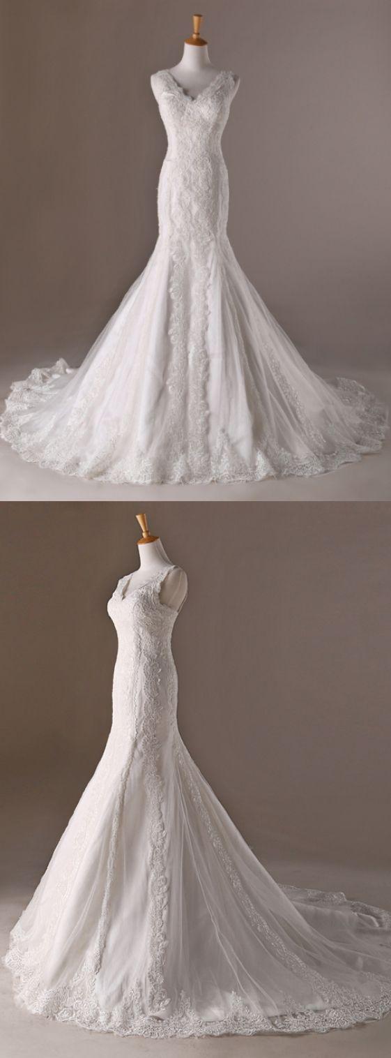 Mermaid wedding dresses white wedding dresses long wedding dresses