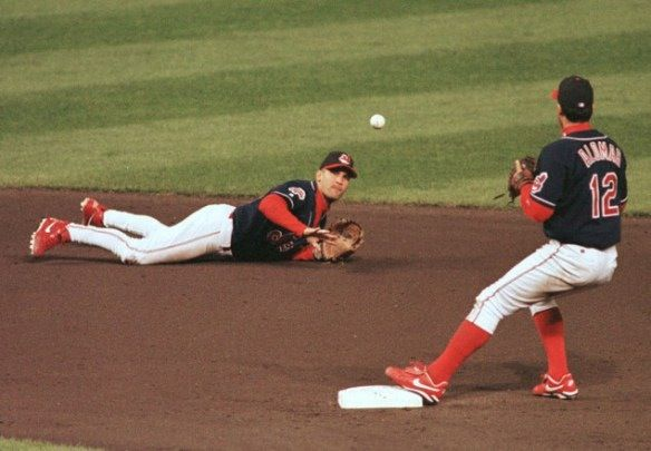 Probably the greatest double play duo I have seen in my life: Omar Vizquel and Roberto Alomar of the Cleveland Indians from 1999-2001.