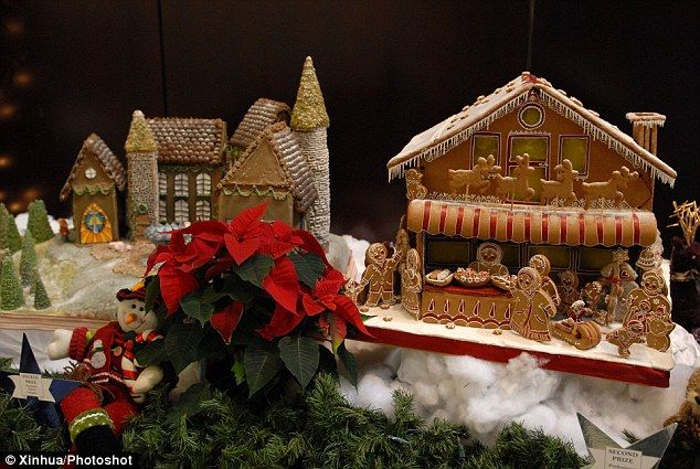 Eat Your Heart Out Brothers Grimm From The Sphinx To Sandy S Crane The Gingerbread Creations That Put Hansel And Gretel S House To Shame Gingerbread Hansel Gretel House Eat Your Heart Out