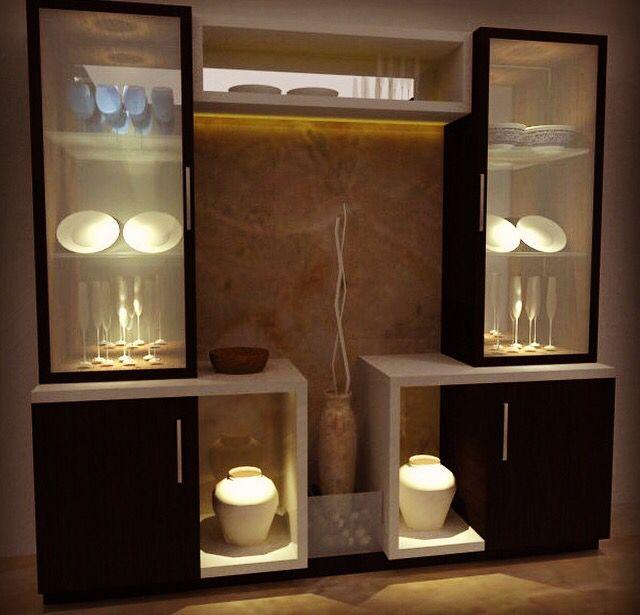 Modern Crockery Cabinet Designs Dining Room Google Search