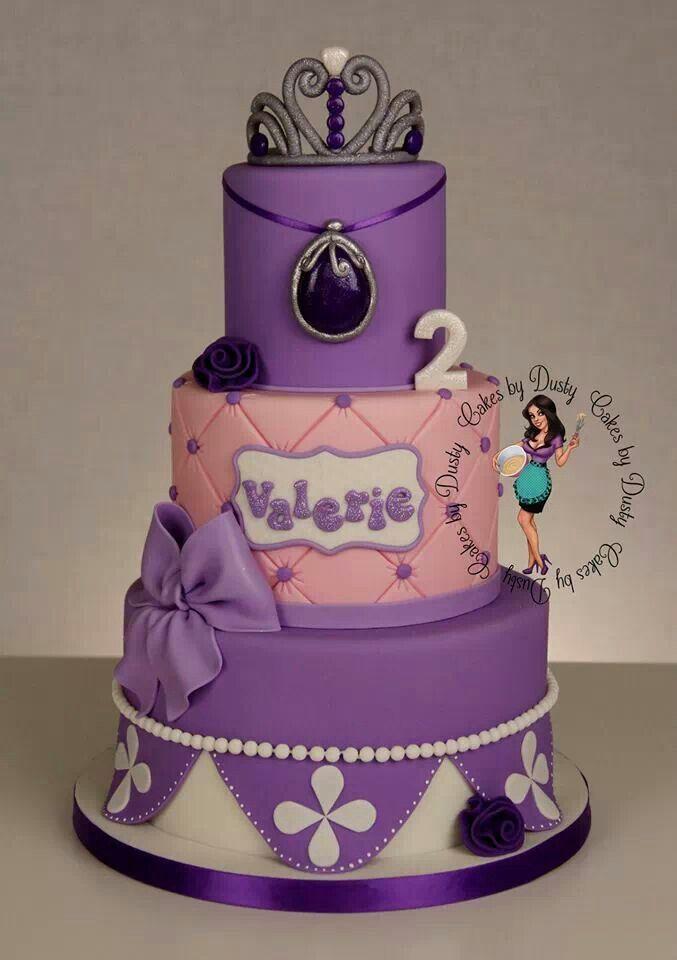 Princess Sofia cake princesita sofia Pinterest Princess sofia
