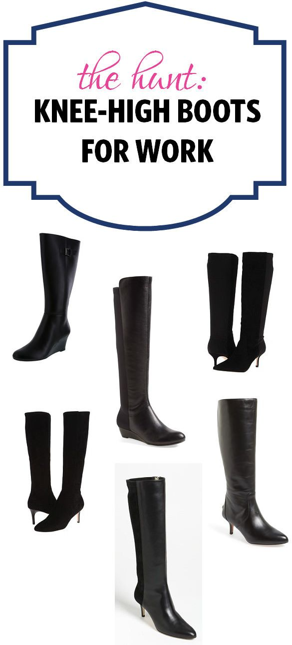 995b0d92f9f Knee high boots are a
