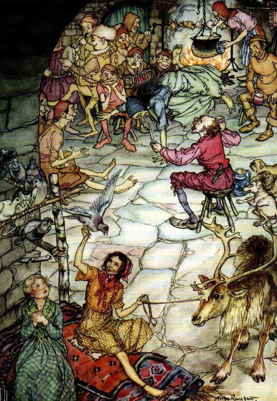 "Arthur Rackham «Tales» | ""Pictures and talk"""