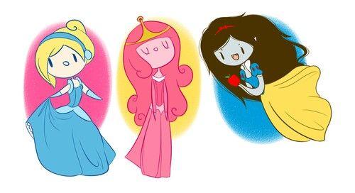Adventure time princesses