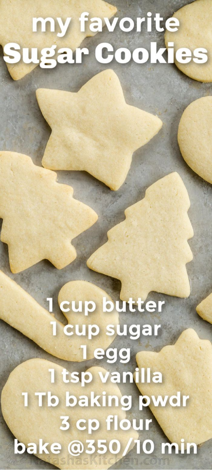 This my go-to sugar cookies recipe. It's easy and turns out perfect every time. Make sure you follow all of the tips on making perfect sugar cookies. This is everything you need to know to master making sugar cookies. #cookies #sugarcookies
