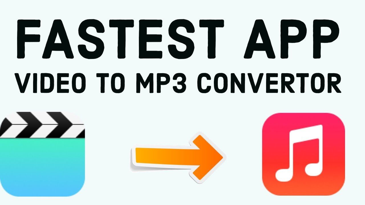 How to convert video to mp3 in iPhone Video to Mp3