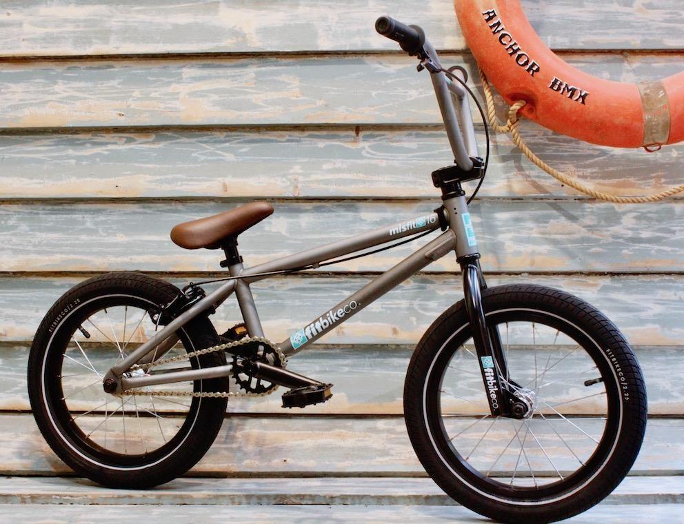 Fit Bike Co Misfit 16 Inch 2020 Matte Clear Bmx Bike Bmx Bikes