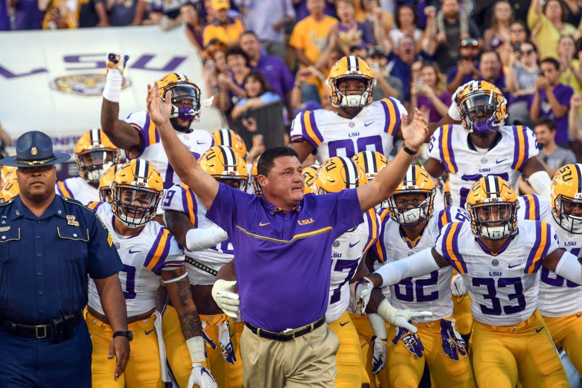 Geaux Tigers Lsu Coach O Lsu Tigers Football Lsu Football Lsu