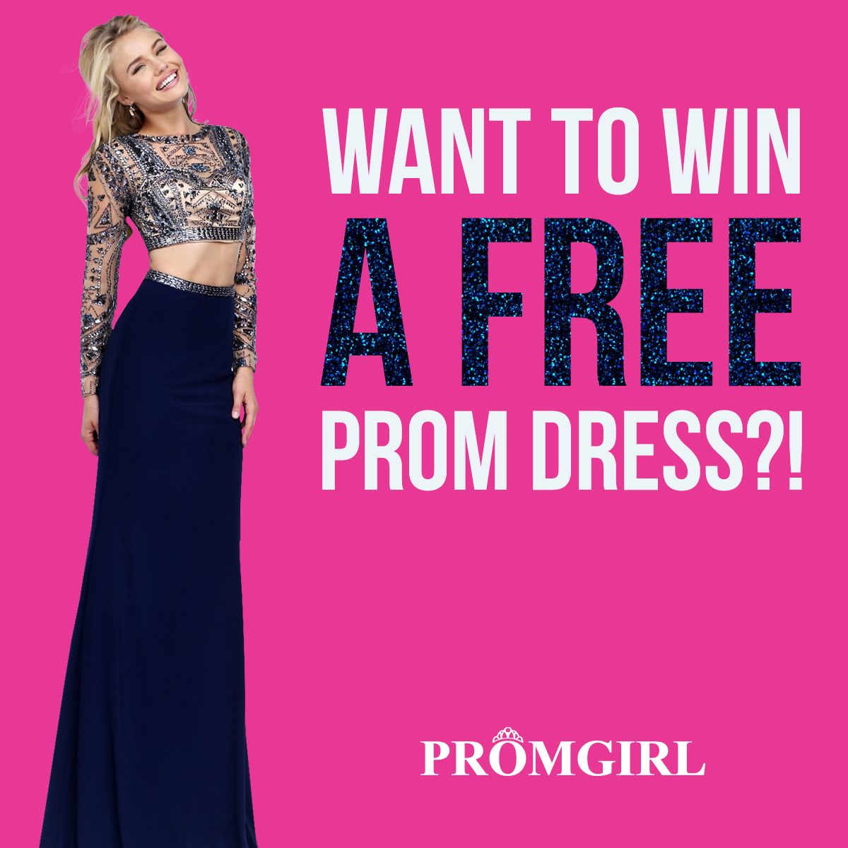 Just take our prom quiz for a chance to win a free prom dress