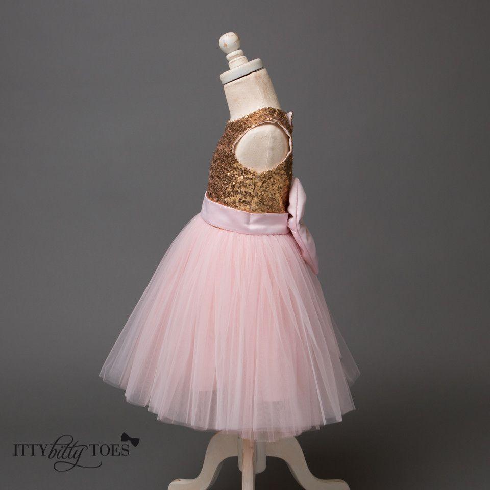 4845afb5a Princess Kate Dress (Gold   Pink)
