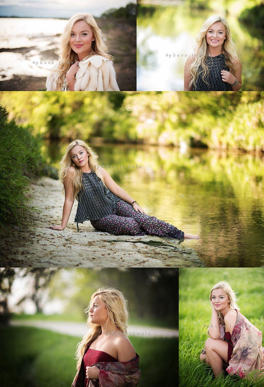 Senior Girl Senior Girl Water Creek Lake Artistic