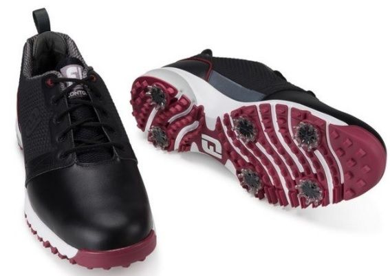 e91fa95a5 Zapatos de golf Footjoy Contour Fit, con horma extra ancha. ¡Disfrute de la
