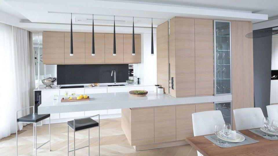6 Elegancka I Nowoczesna Kuchnia Otwarta Na Jadalnie Home Decor Kitchen Home
