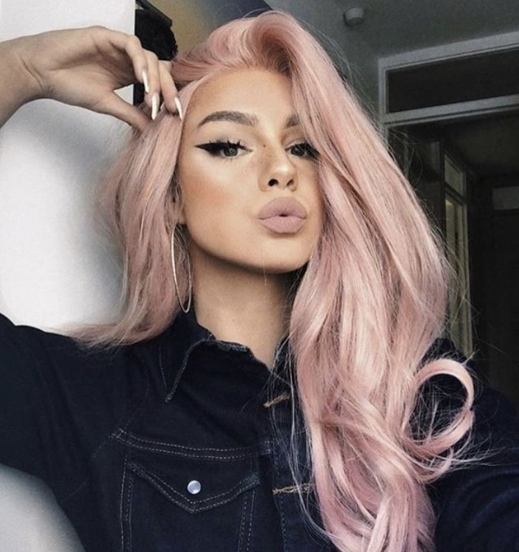 Dusty Rose Pink Hair I M In Love Cool Hair Color Pastel Pink