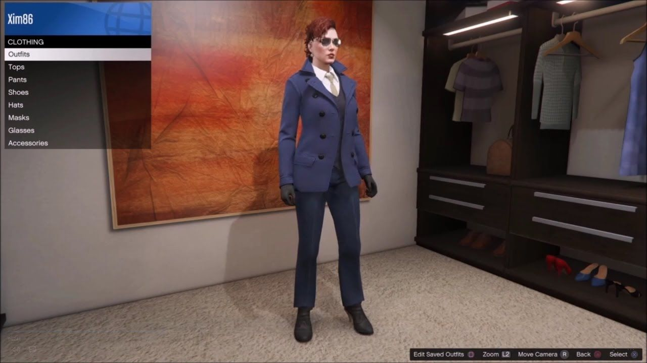 Fun and fashionable custom outfits for your female GTA