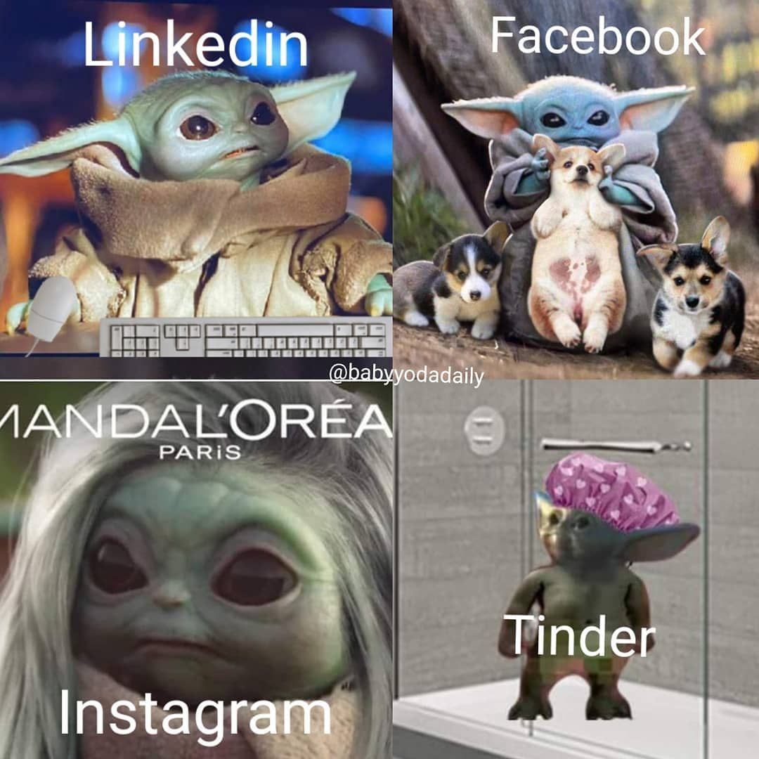"""Baby Yoda on Instagram """"Couldn't help it 🙈🤭 Product link"""