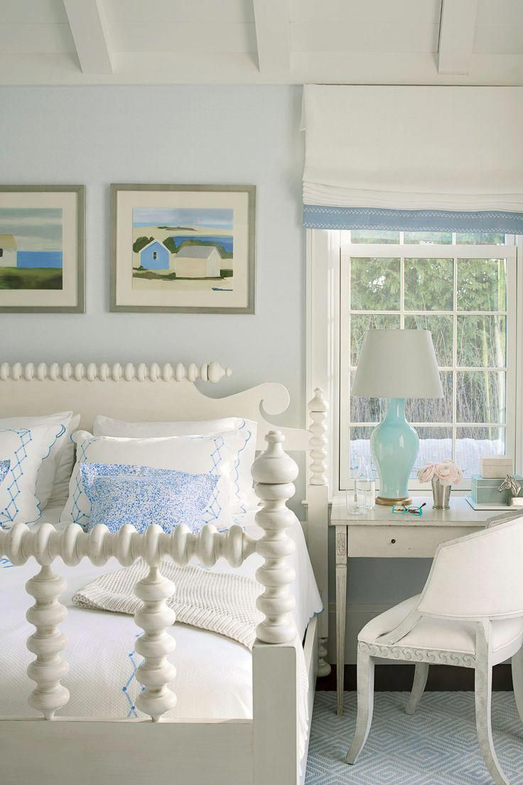 this hamptons bedroom is as peaceful as it gets with its relaxing rh pinterest com