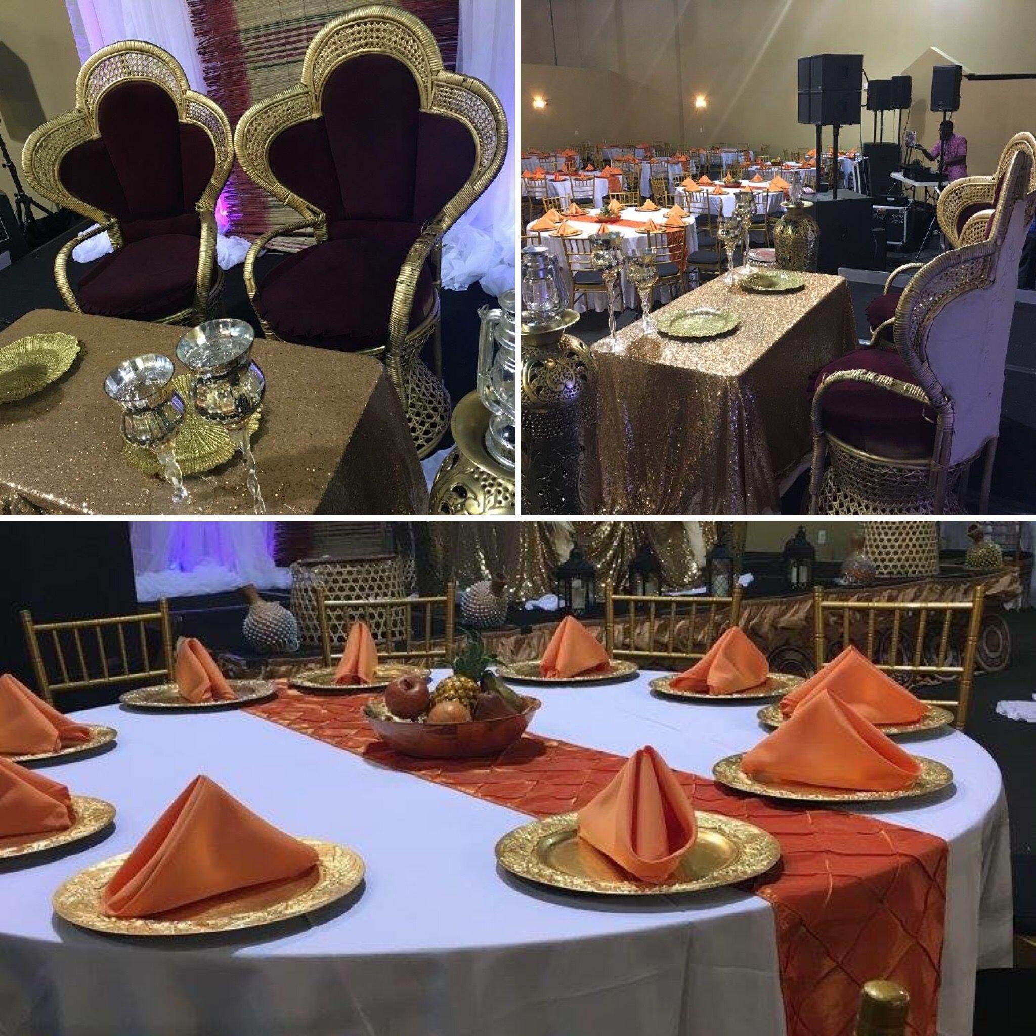 Wedding decorations nigeria  Traditional Nigerian wedding celebration occasionsbanquethall