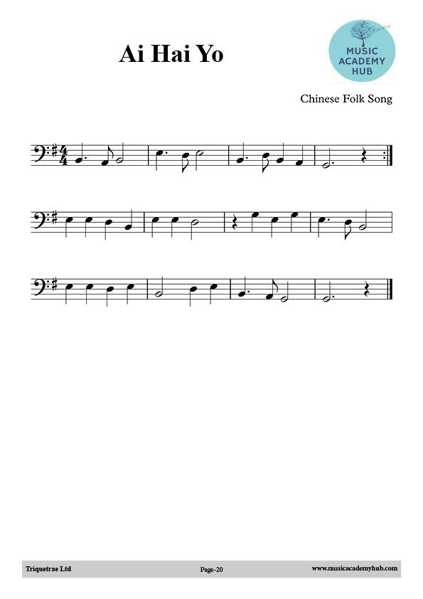 Musicacademy Folk Song Music Lessons
